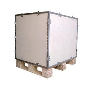 可折叠钢带箱